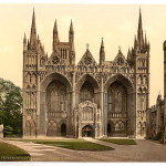 [Cathedral, west front, Peterborough, England]